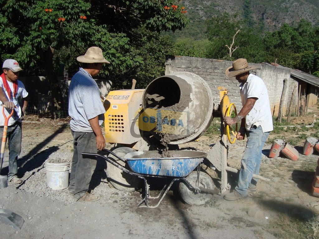 T cnicas de construcci n constructora industrial y minas - Como mezclar cemento ...